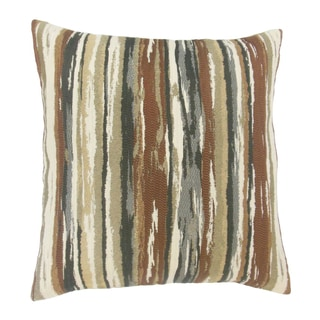 Pillow Collection Inc. Plaid and Stripe 18-inch Designer Throw Pillow-Multiple Patterns available