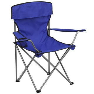 Folding Camping Chair with Drink Holder