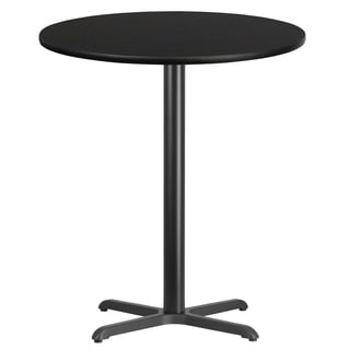 36-inch Round Laminate Table Top with Table Base