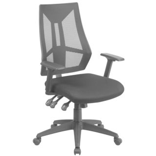 High Back Mesh Chair with Triple Paddle Control