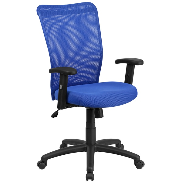 High Back Mesh Executive Ergonomic Swivel Office Chair With Adjustable Armres