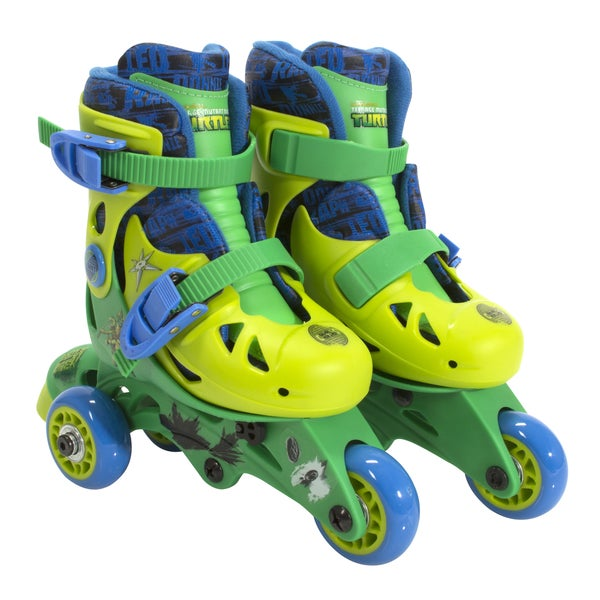 Playwheels Boys Convertible 2-in-1 Kids Skate Junior Size 6-9