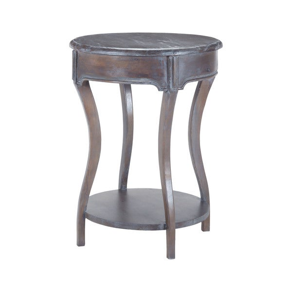 Sterling Back Bend Heritage Dark Grey Stain Side Table