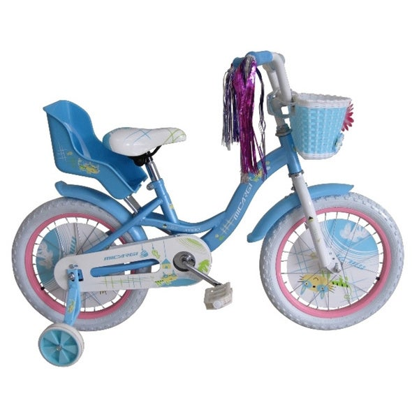 Micargi 16-inch Girl Baby Blue Bicycle Avery BMX