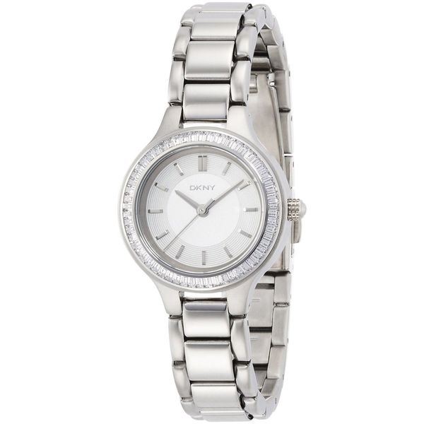 DKNY Women's NY2391 'Chambers' Crystal Stainless Steel Watch