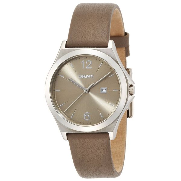 DKNY Women's NY2370 'Parsons' Brown Leather Watch
