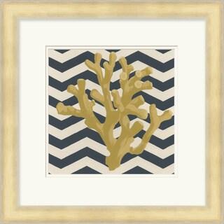 "June Erica Vess : Coastal Colten Square Framed Print 21"" x 21"""