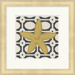 "June Erica Vess : Coastal Cedricx Square Framed Print 21"" x 21"""