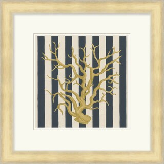 "June Erica Vess : Coastal Carole Square Framed Print 21"" x 21"""