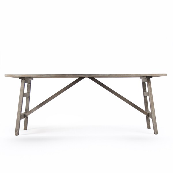 Limed Grey Oak Dining Table