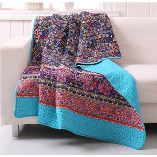 Gala Quilted Cotton Throw