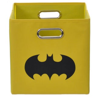 Batman Shield Yellow Folding Storage Bin