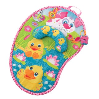 Playgro Pink Puppy Baby Tummy Time Mat