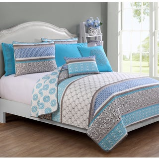 Avondale Manor Sebastian 7-piece Reversible Quilt Set