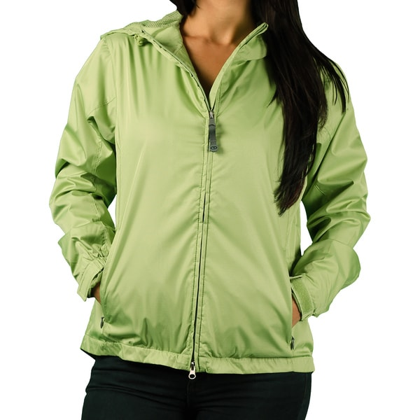 Vantage Women's Hooded Packable Jacket