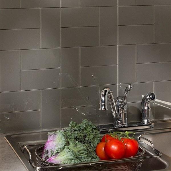 Home depot glass backsplash tiles