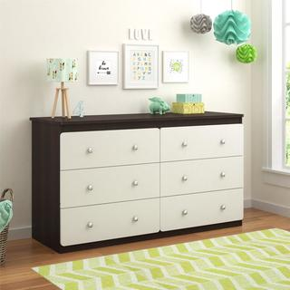 Altra Willow Lake 6-Drawer Dresser by Cosco