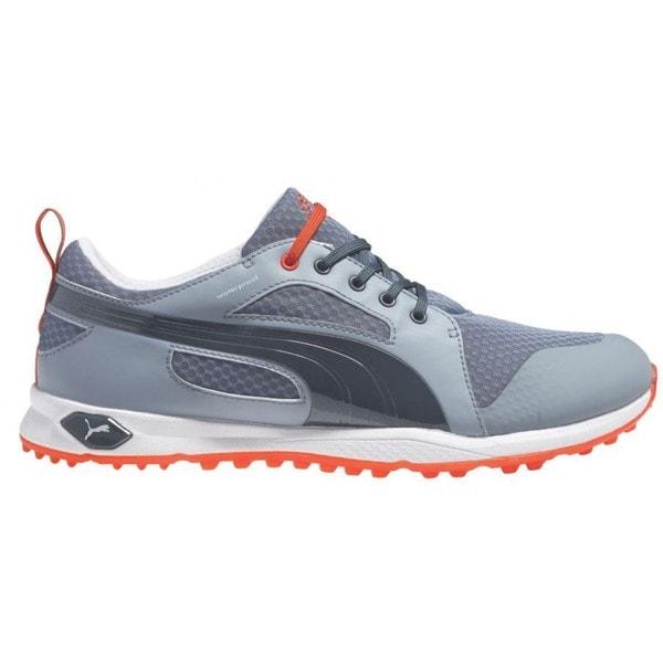 Puma Men's Biofly Mesh Tradewinds/ Turbulence/ Puma Red Golf Shoes