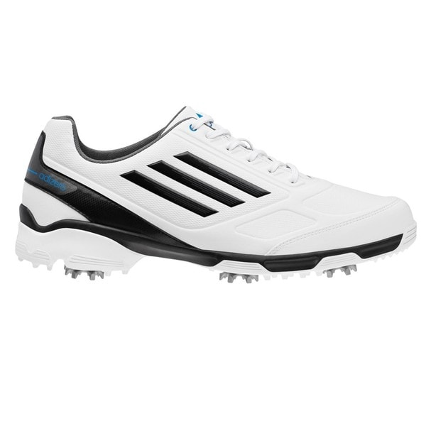 Adidas Men's Adizero TR White/Black/Blue Golf Shoes