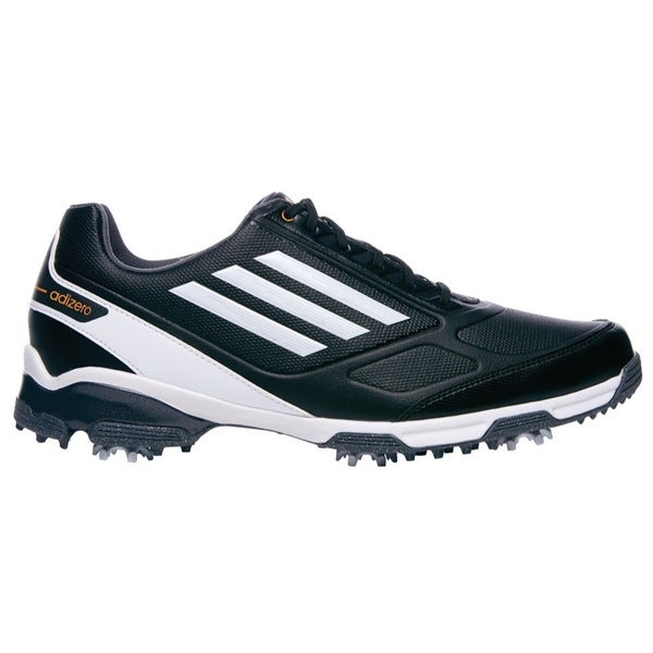 Adidas Men's Adizero TR Black/ Running White/ Zest Golf Shoes
