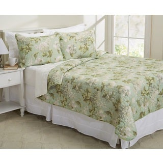 Caspienne Collection Printed 3-piece Quilt Set