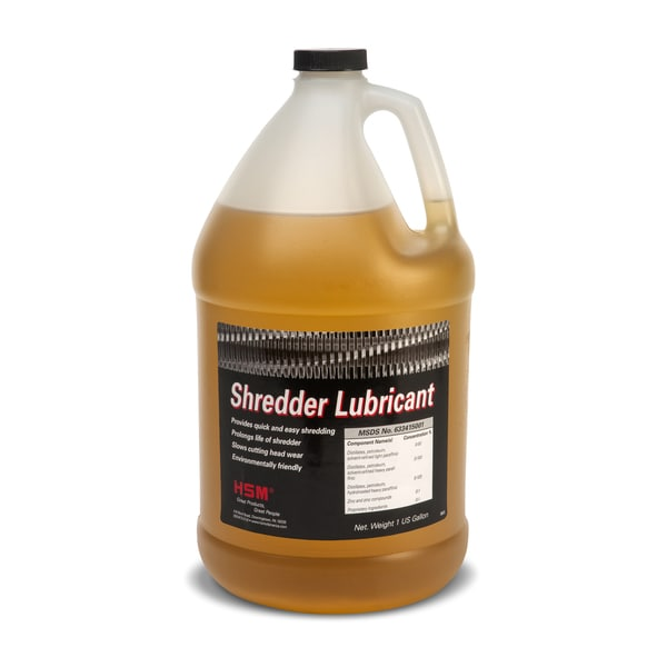 Shredder Oil Gallon Bottle