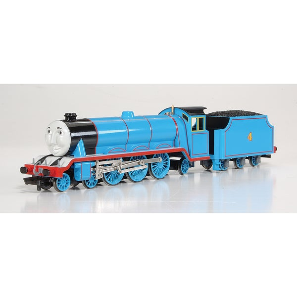 Bachmann Trains Thomas and Friends Gordon The Express Engine Locomotive with Moving Eyes- HO Scale Train