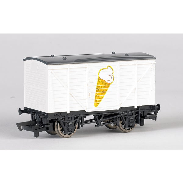 Bachmann Trains Thomas and Friends Ice Cream Wagon- HO Scale Train