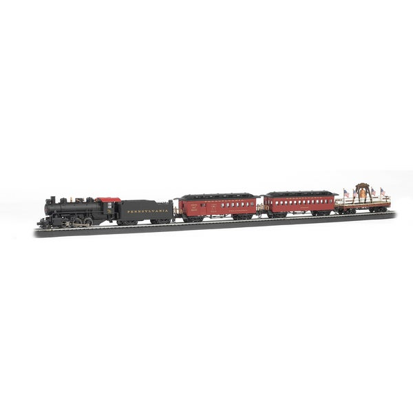 Bachmann Trains Liberty Bell Special - HO Scale Ready To Run Electric Train Set 16331341