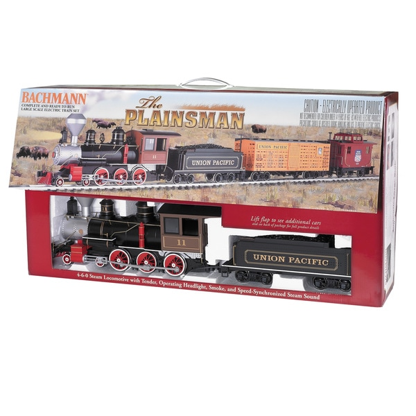 Bachmann Trains The Plainsman - Large 'G' Scale Ready To Run Electric Train Set