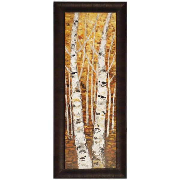 Birch Panel I 23-inch x 54-inch Framed Oil Wall Art