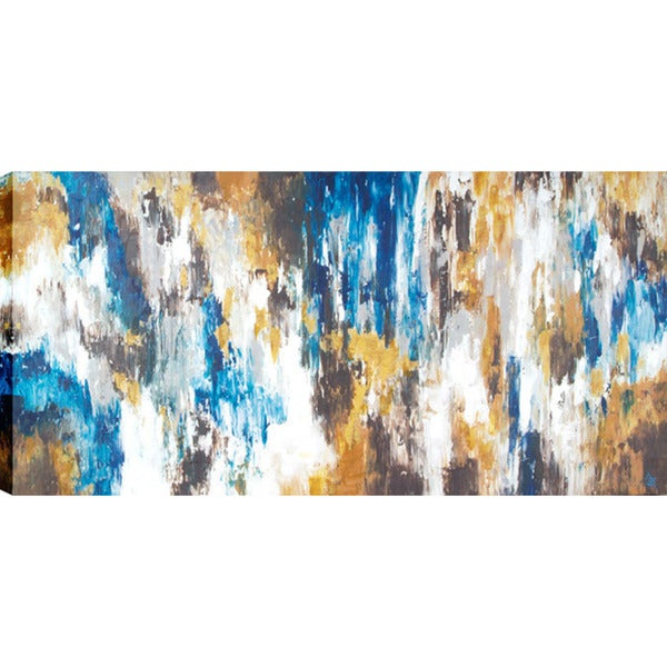 Abstract Vibration 30-inch x 60-inch Oil Wall Art 16331802
