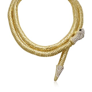 Adoriana Wrap Around Snake Necklace