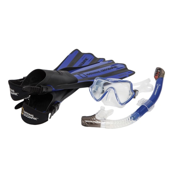 National Geographic VAYA Snorkel and Fin Set