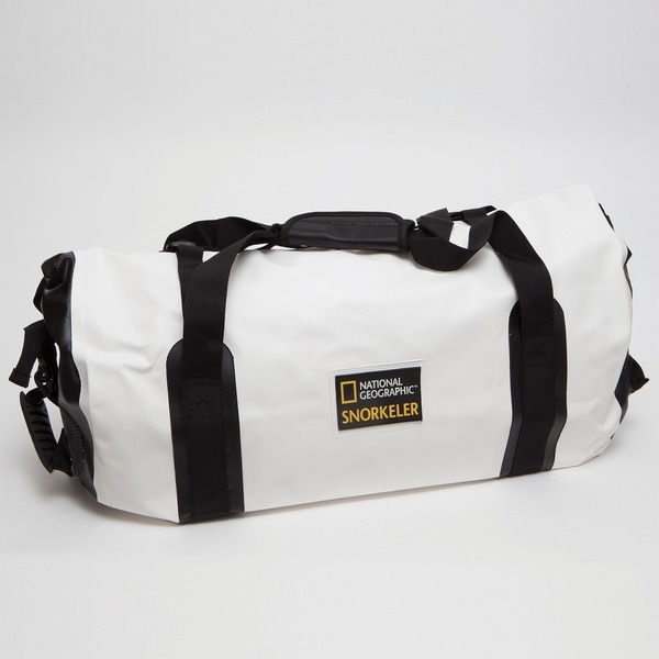 National Geographic Mariana Trench Dry Bag Black and White