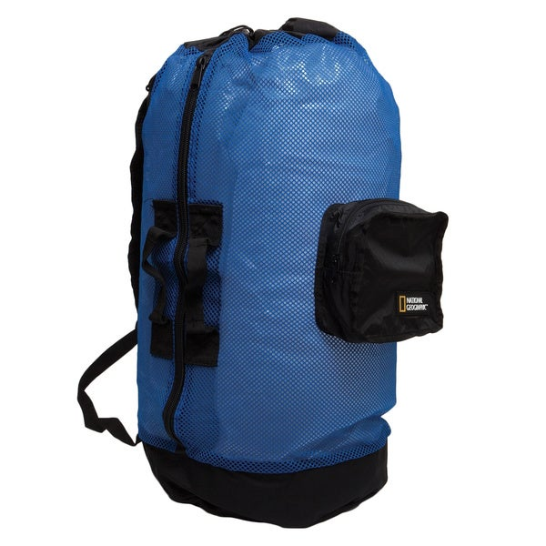 National Geographic Clamshell Mesh Backpack Dlx 5 Pocket