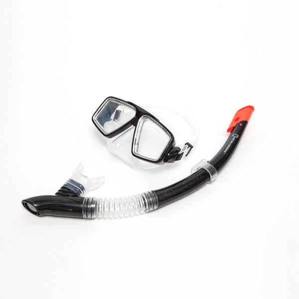 National Geo Snorkeler 2 Pc Tunny4 Mask/Swordfish Semi