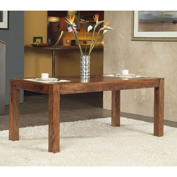 Solid Sheesham/ Indian Rosewood Rectangular Dining Table