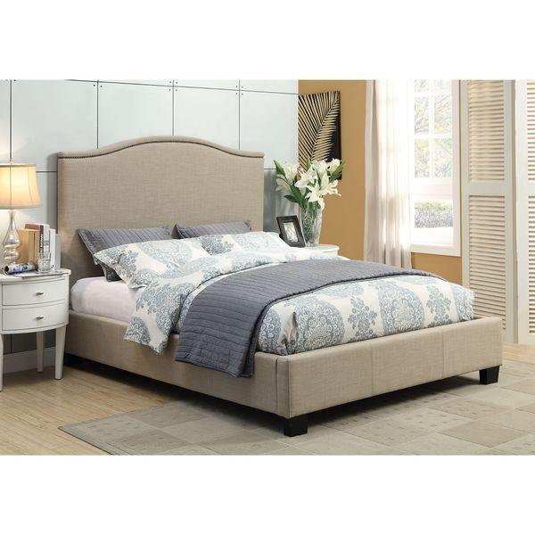 Gervais Camelback Platform Bed