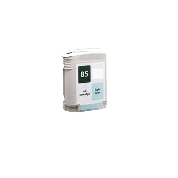 1PK C9428A (HP 85) Light Cyan Compatible Ink Cartridge For HP 30 130 (Pack of 1)