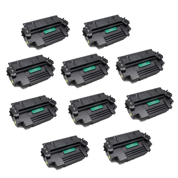 10 PK Compatible 92298A Black Toner Cartridge For HP 4 Plus 4M (Pack of 10)