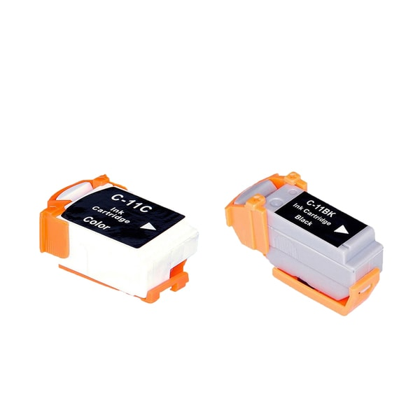 2PK BCI-11B BCI-11C Compatible Ink Cartridge For Canon BJCAN 70 (Pack of 2)
