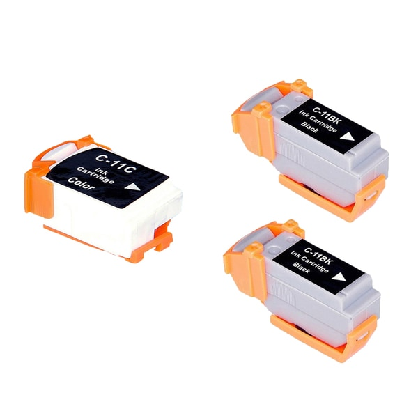 3PK BCI-11B BCI-11C Compatible Ink Cartridge For Canon BJCAN 70 (Pack of 3)