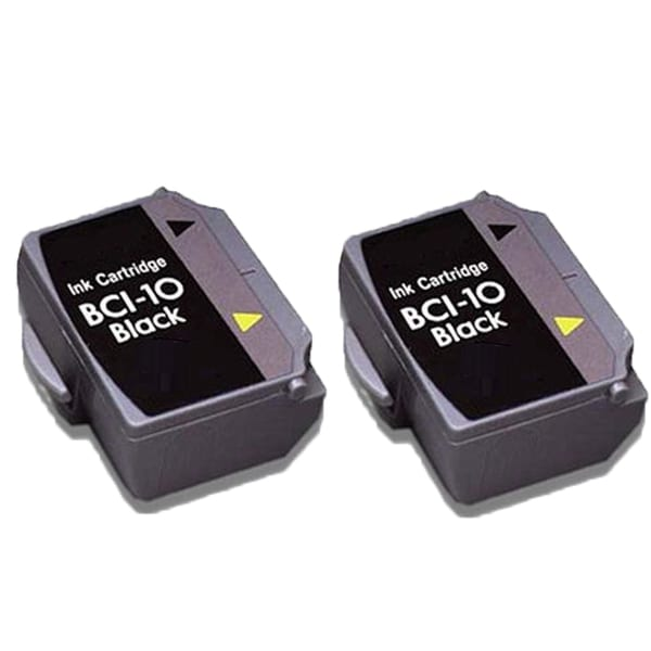 2PK BCI-10 Black Compatible Ink Cartridge For Canon BJ-30 BJCAN-70 (Pack of 2)