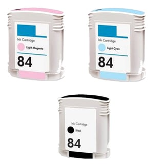 3PK C5016AN - C5018AN (HP 84) LM LC BK Compatible Ink Cartridge For HP 10PS 20PS 50PS (Pack of 3)
