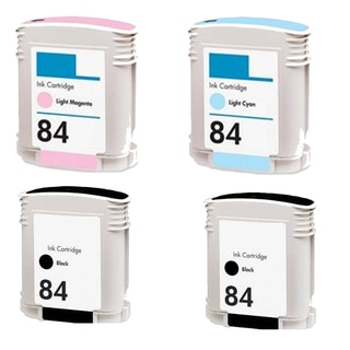 4PK C5016AN - C5018AN (HP 84) LM LC 2BK Compatible Ink Cartridge For HP 10PS 20PS 50PS (Pack of 4)