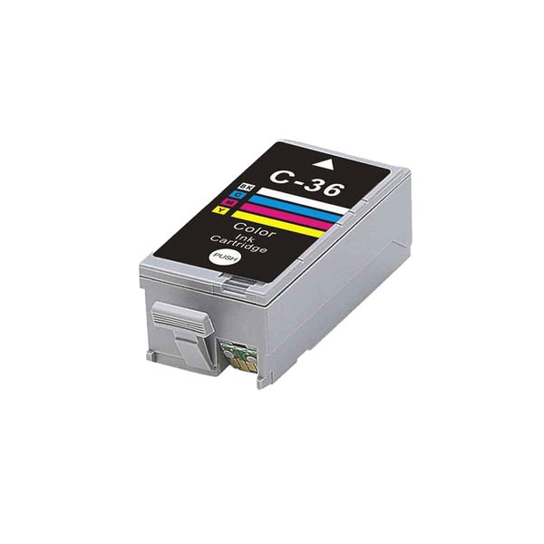 1PK CLI-36 Color Compatible Ink Cartridge For Canon iP100 PIXMA mini260 320 (Pack of 1)