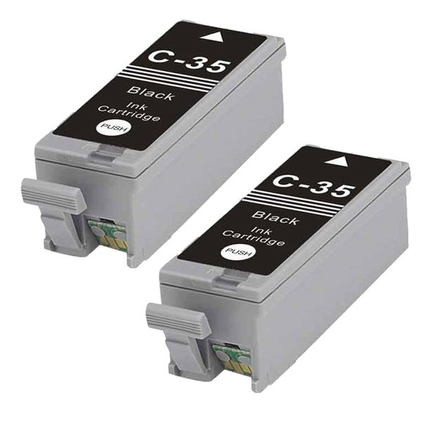 2PK PGI-35 Black Compatible Ink Cartridge For Canon PIXMA iP100 (Pack of 2)