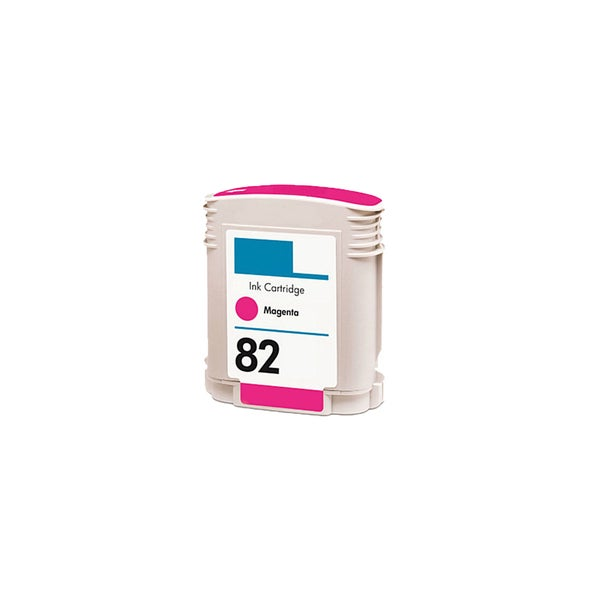 1PK C4912A (HP 82) Magenta Compatible Ink Cartridge For HP Designjet 800 500 (Pack of 1)