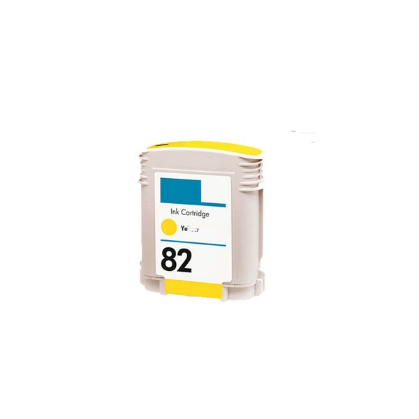 1PK C4913A (HP 82) Yellow Compatible Ink Cartridge For HP Designjet 800 500 (Pack of 1)